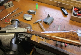 Restauration d'armes fines - Armurerie Hanssen